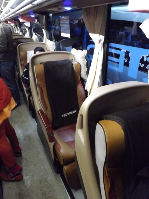 Single seat, cukup untuk tidur nyenyak selama perjalanan